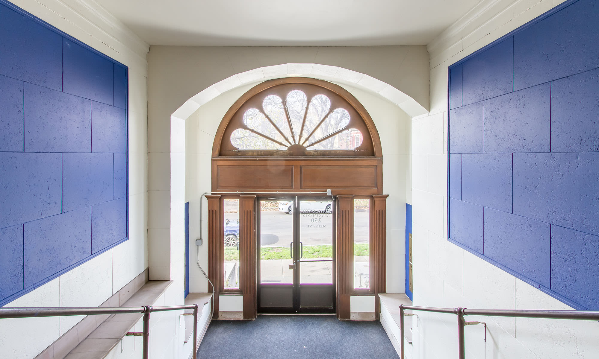 Entry way in apartments in Rochester, NY