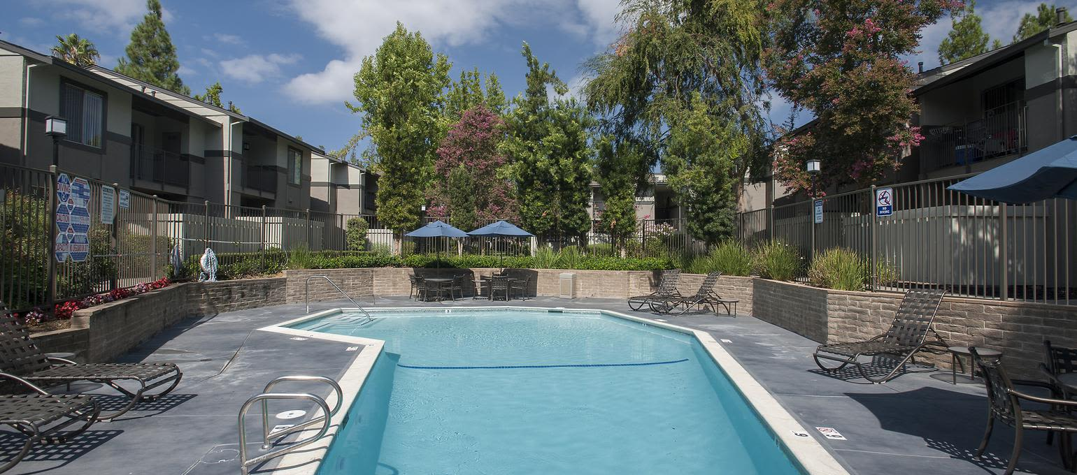 Pool at Valley Ridge Apartment Homes in Martinez, California
