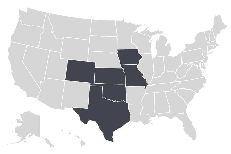 Overland Property Group locations map