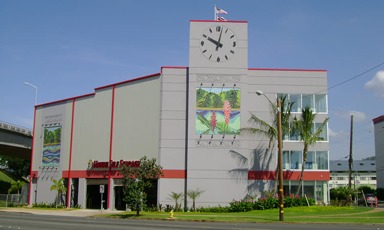 Exterior view of Hawai'i Self Storage in Honolulu