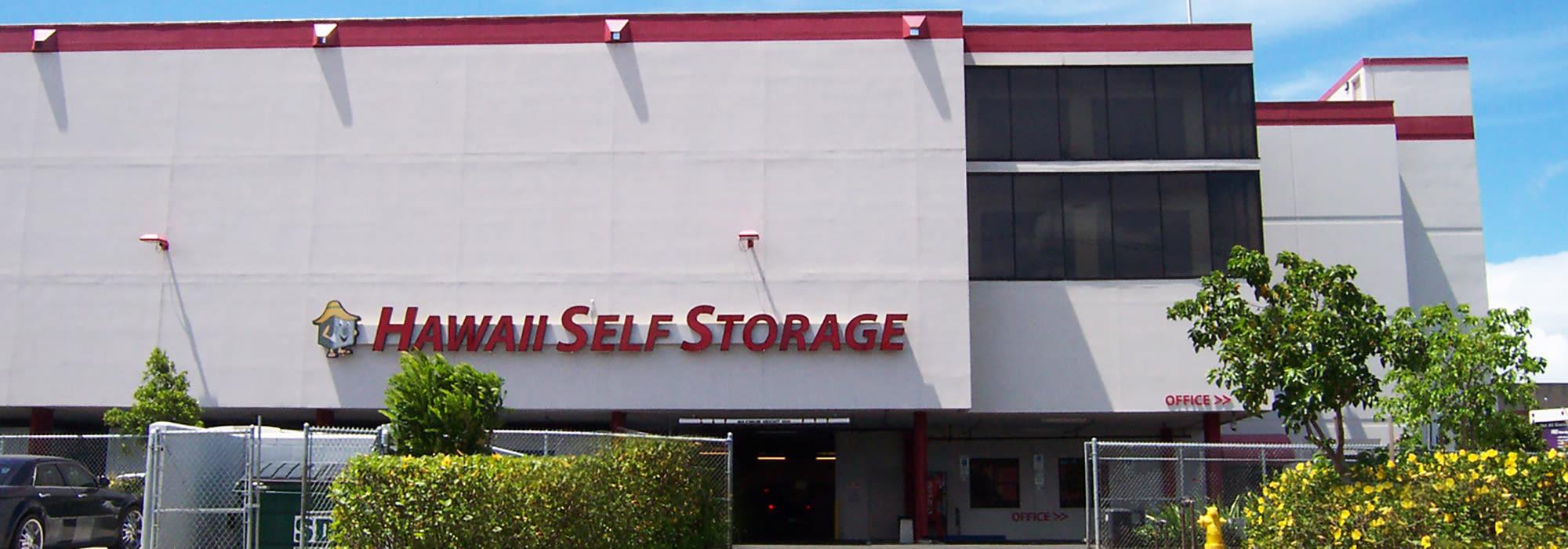 Self storage in Pearl City HI