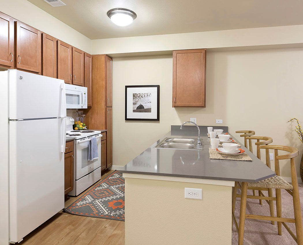 Kitchen at Affinity at Wells Branch