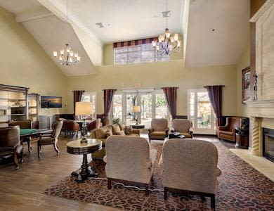 Beatiful Living space at Pacifica Senior Living Chino Hills in Chino Hills, California