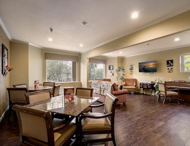 Lobby at Pacifica Senior Living Chino Hills