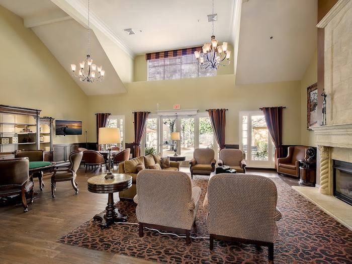 Living space at Pacifica Senior Living Chino Hills in Chino Hills, California
