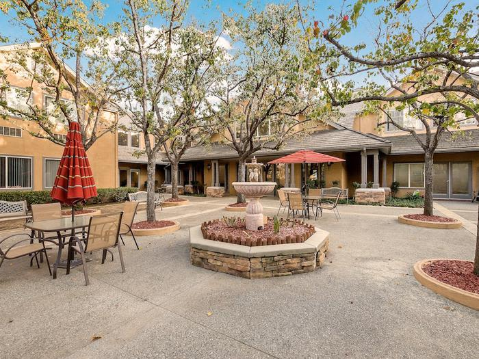 An exterior view at Pacifica Senior Living Chino Hills