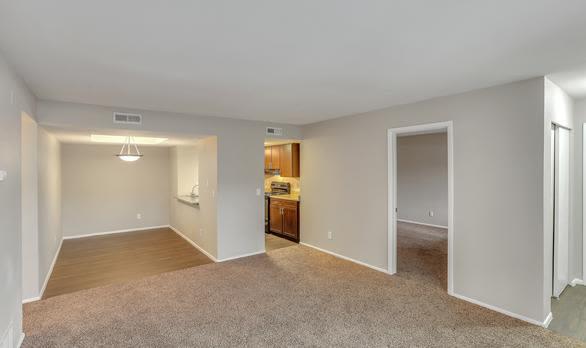 Spacious aisle at apartments in Salt Lake City, Utah