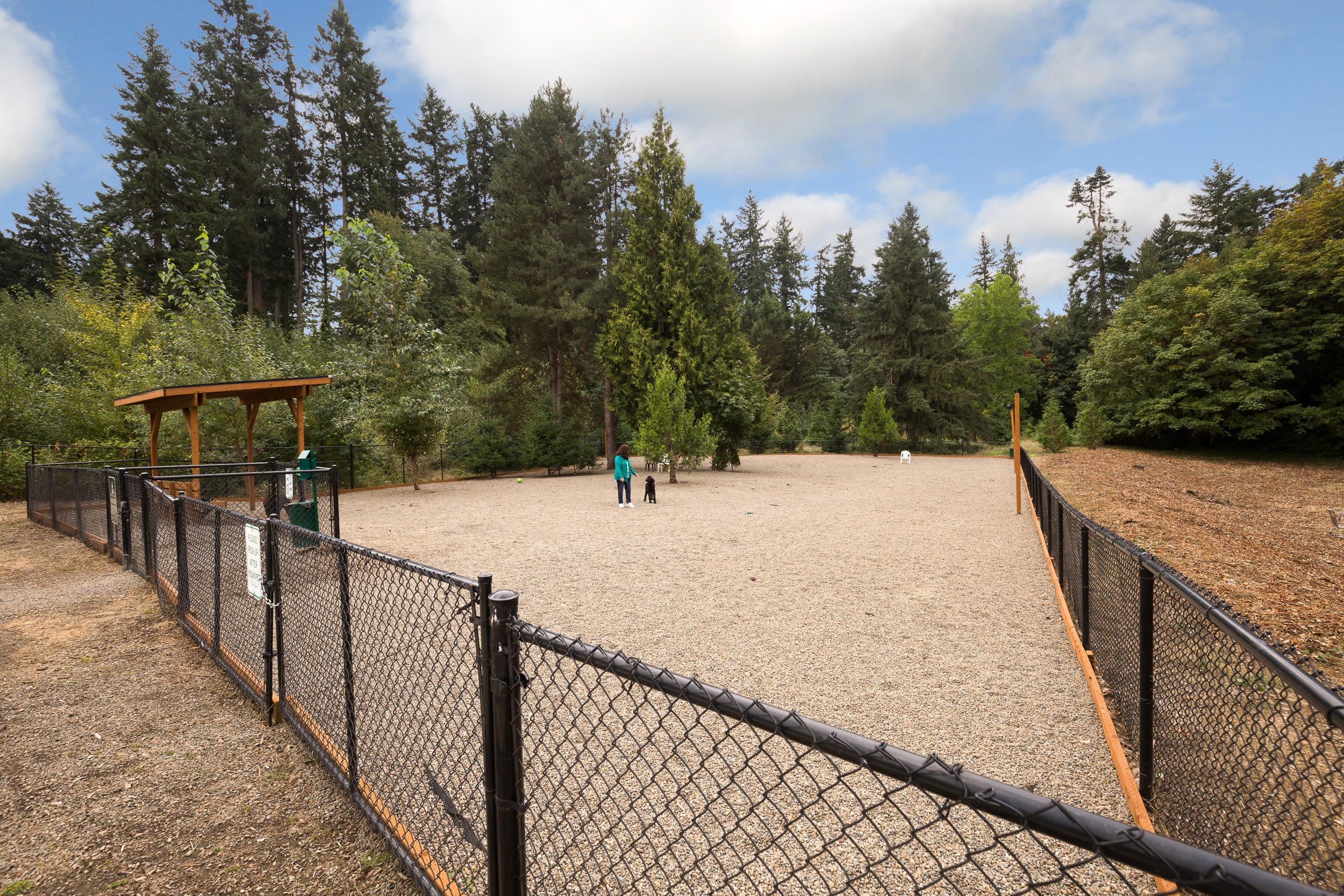 Dog Park at Terrene at the Grove in Wilsonville,OR