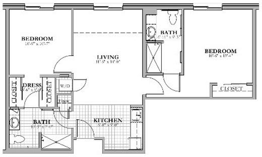 S8 - 2 Bed 2 Bath