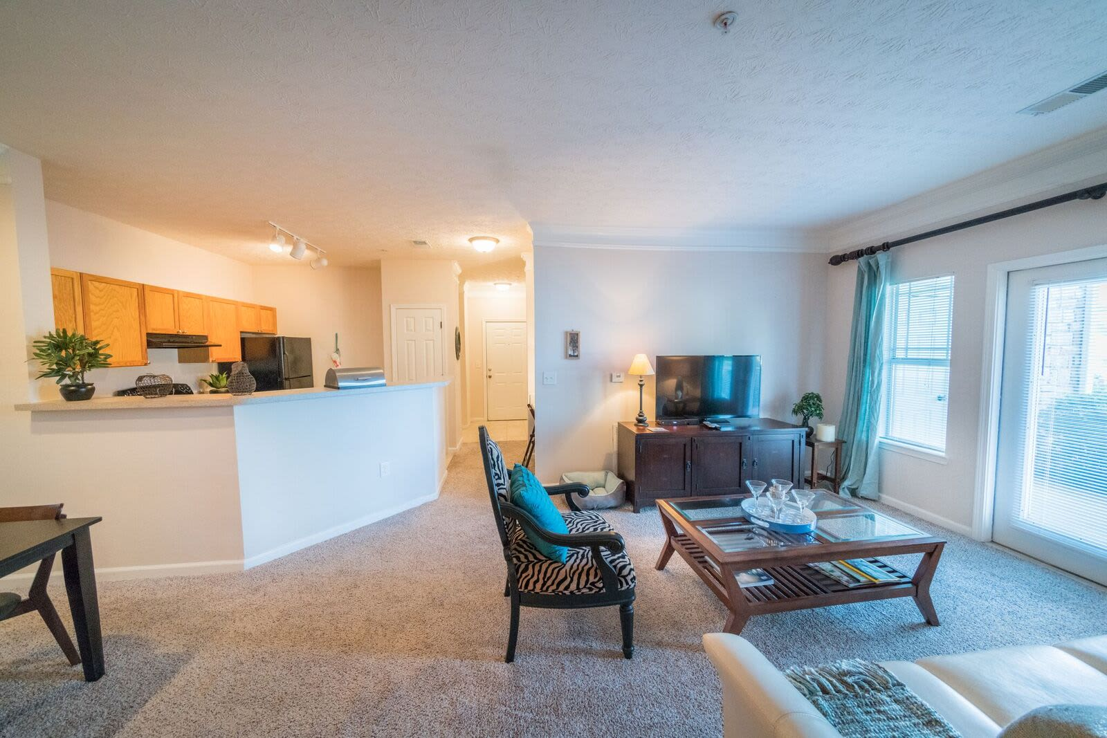 Our apartments in McDonough, Georgia showcase a spacious living room