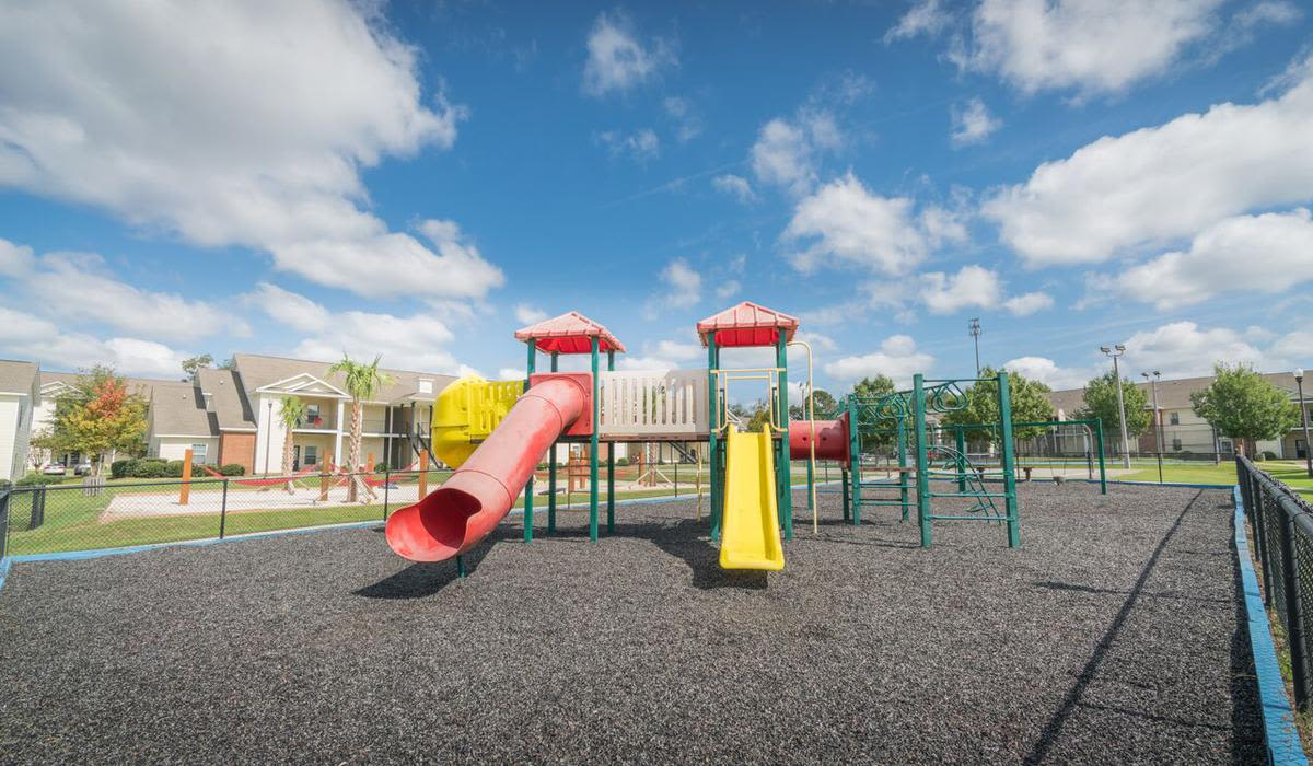Large playground at Northwind Apartments in Valdosta, Georgia