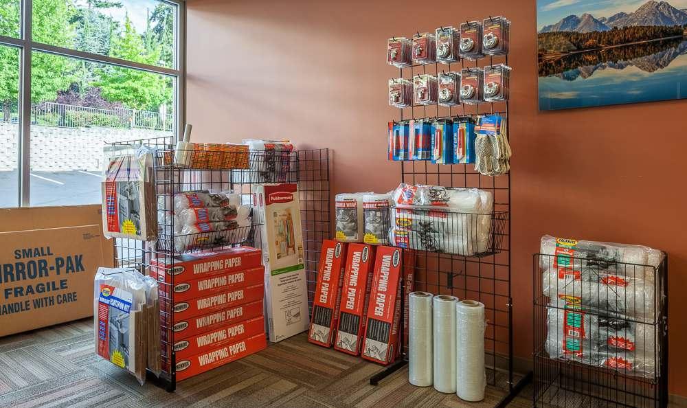 Storage Supplies at Clock Tower Self Storage - Lake Stevens in Lake Stevens, WA