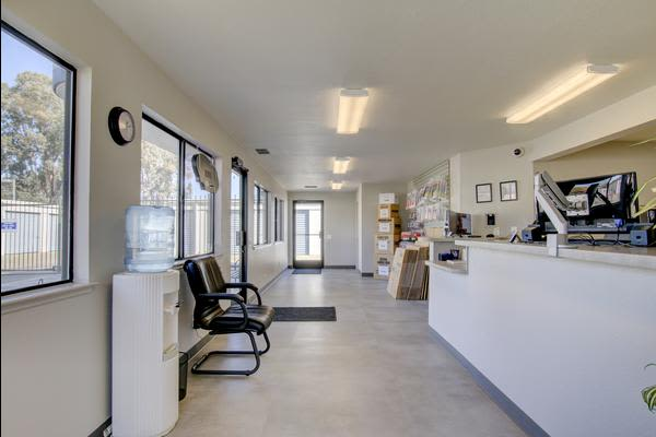 Renovated Offices at First Rate Storage in Woodland, California