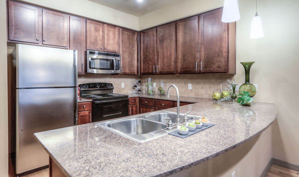 Kitchen at Discovery at Rowlett Creek