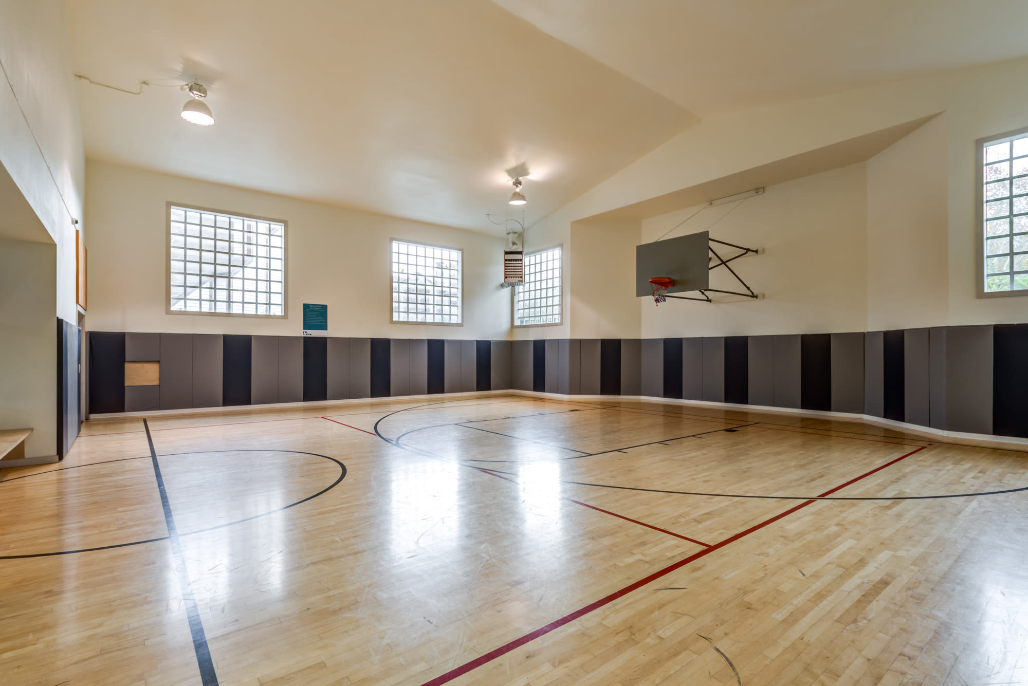 Basketball Court at Olin Fields Apartments in Everett