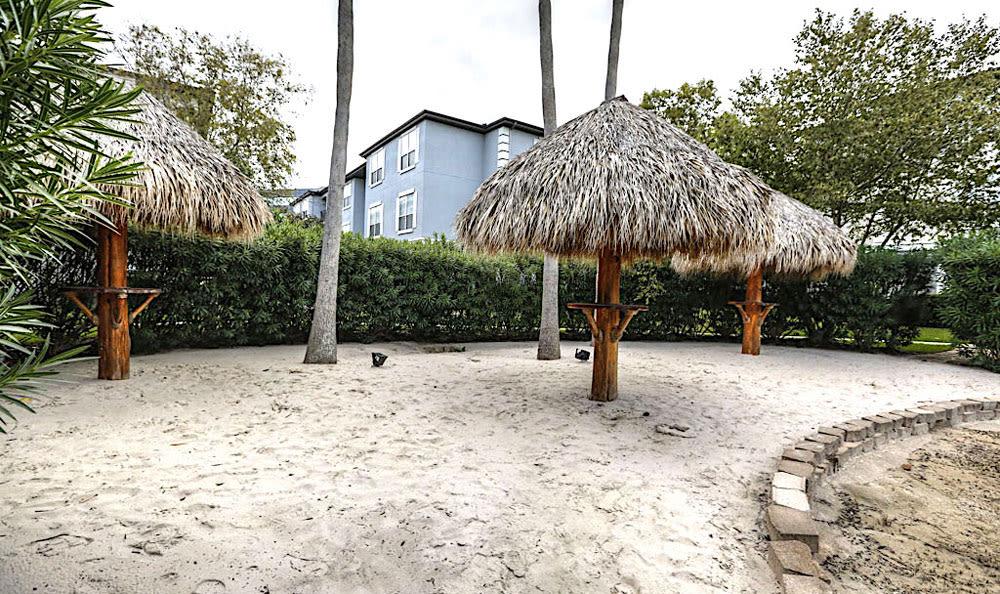 Beach at Palms at Clear Lake