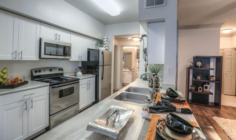 Kitchen at Palms at Clear Lake