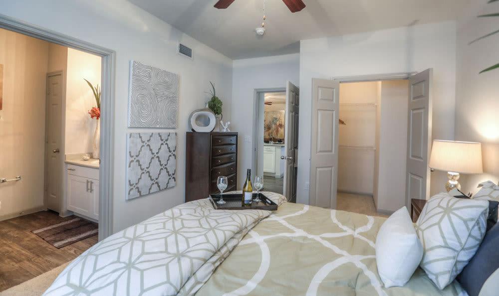 Bedroom at Palms at Clear Lake