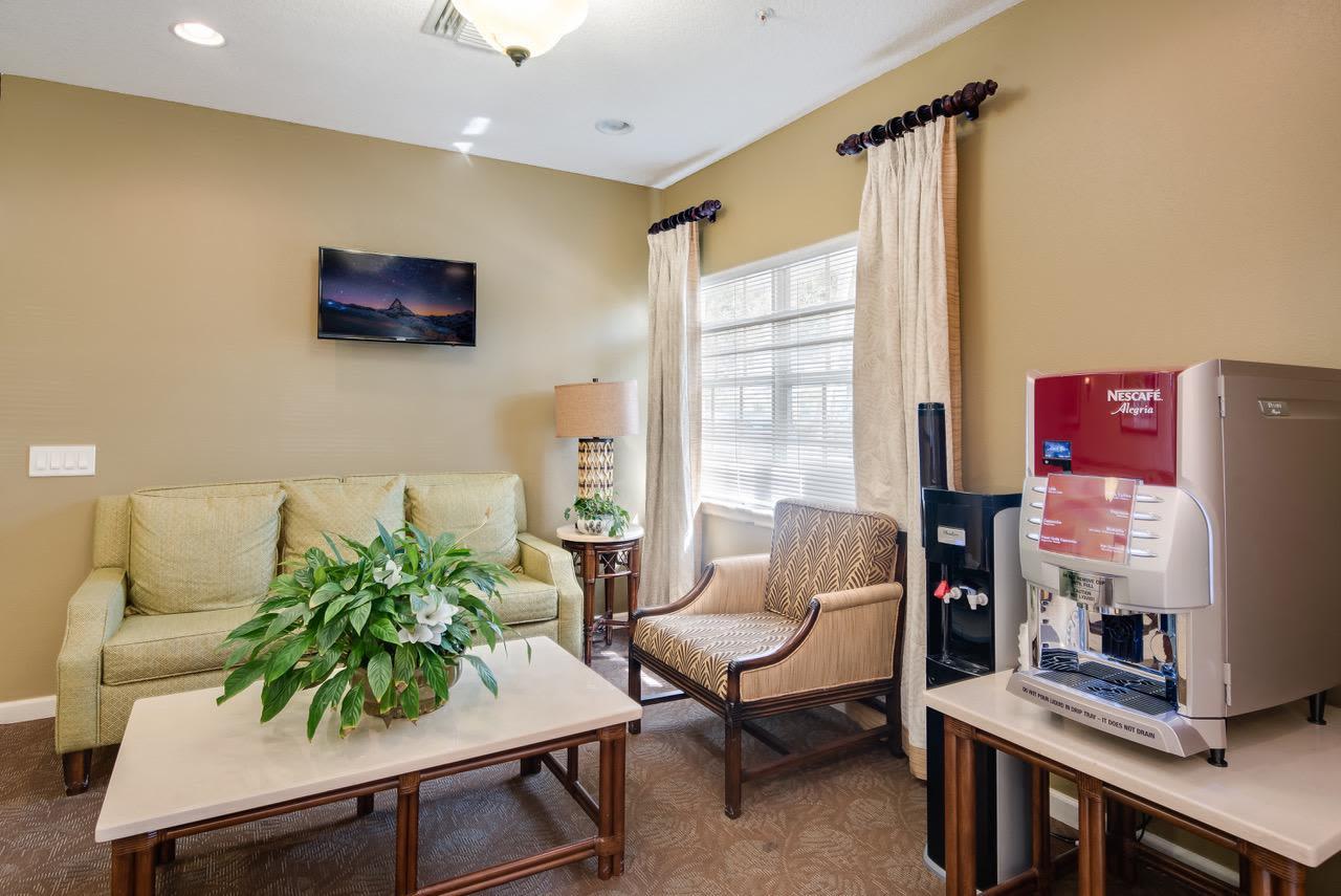 Beautiful living room at  Greenacres, Florida