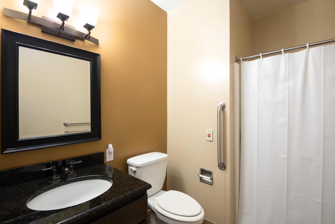 Bathroom at Pacifica Senior Living Palm Beach in Greenacres, Florida