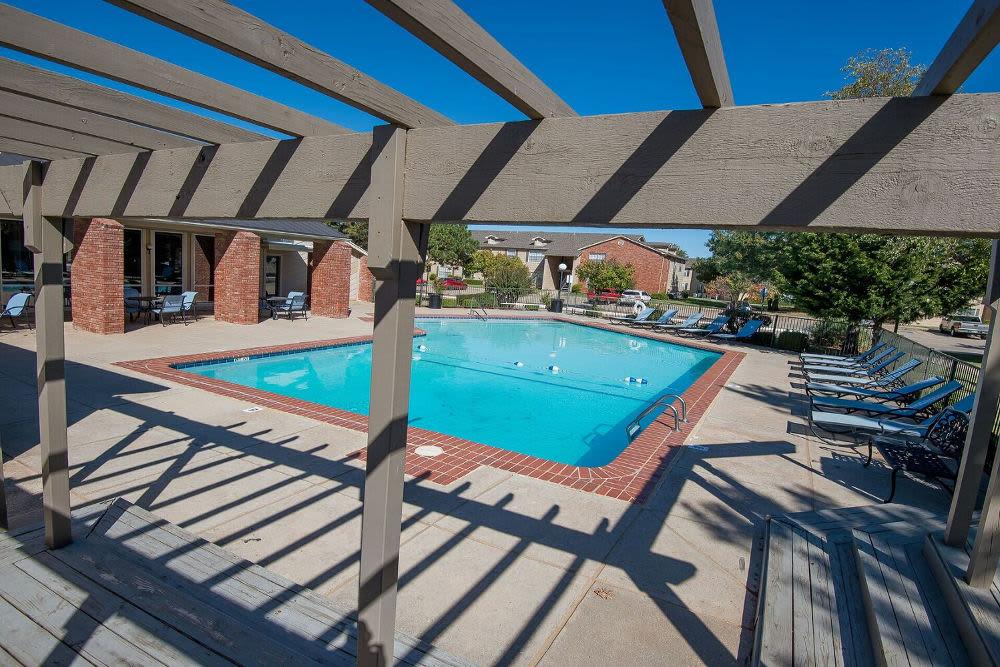 Enjoy the pool at Tammaron Village Apartments in Oklahoma City