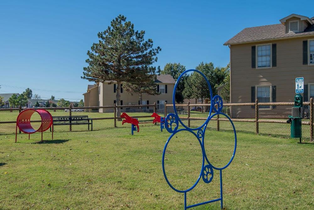 Beautiful playground at Tammaron Village Apartments in Oklahoma City