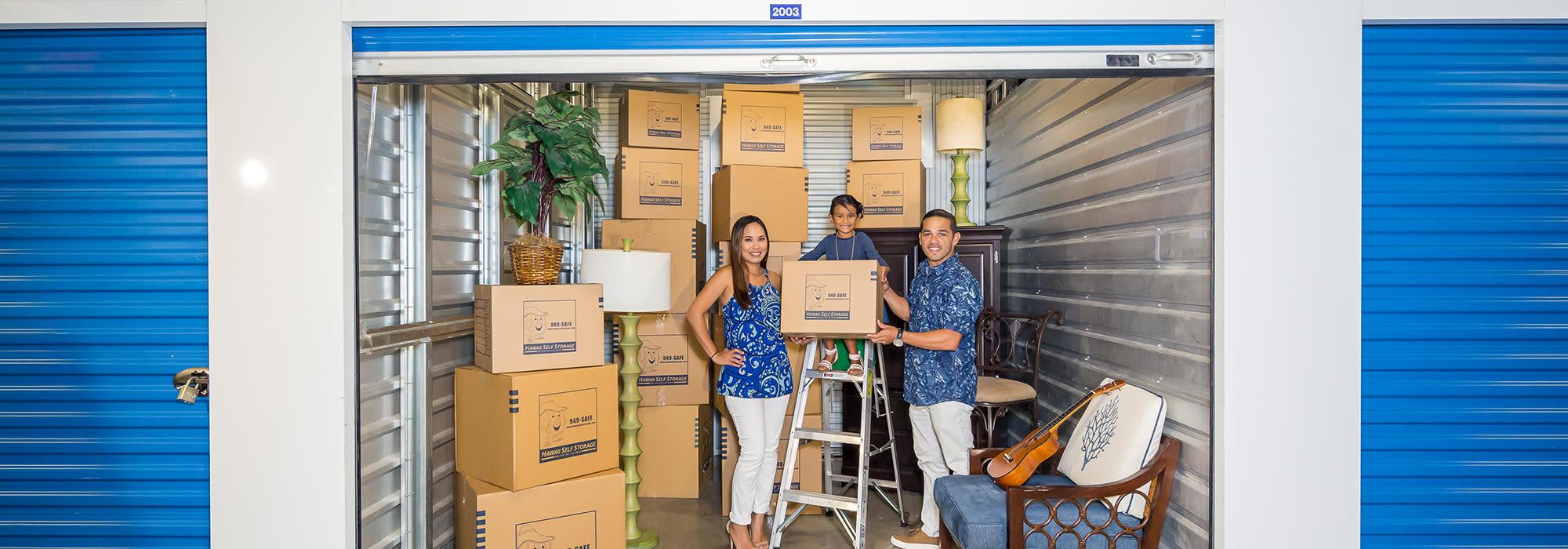 Self Storage In Honolulu Hi