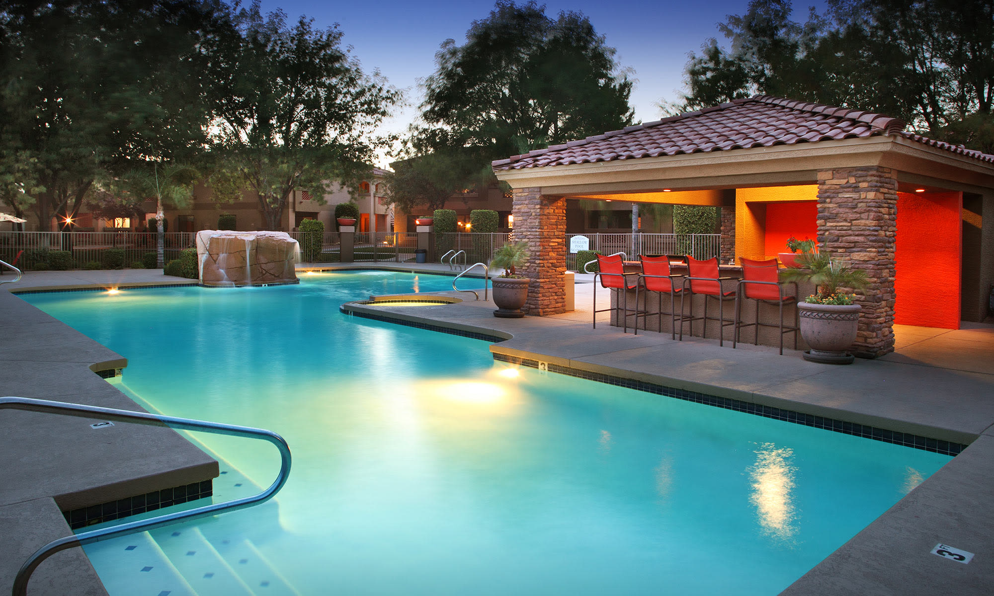 Swimming Pool at San Valiente Luxury Apartment Homes in Phoenix, AZ