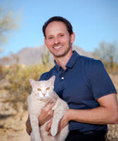 Dr. David Taetle at animal hospital in Scottsdale