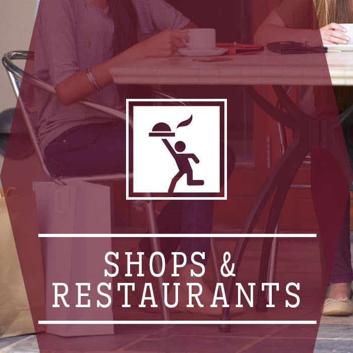 Learn more about shops and restaurants near Emory Point