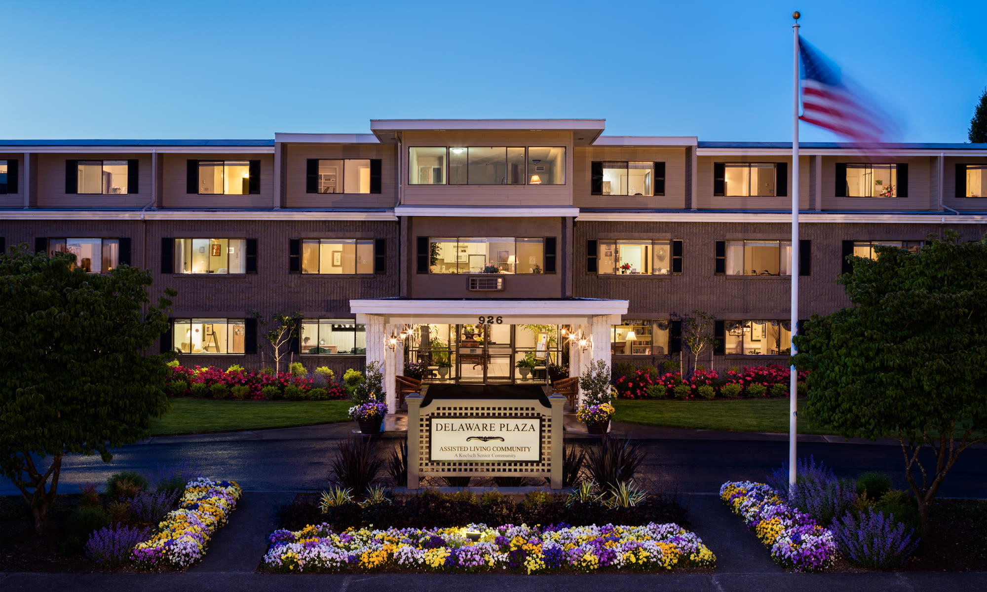 Universal Auto Plaza >> Longview, WA Senior Living | Delaware Plaza Assisted Living Community