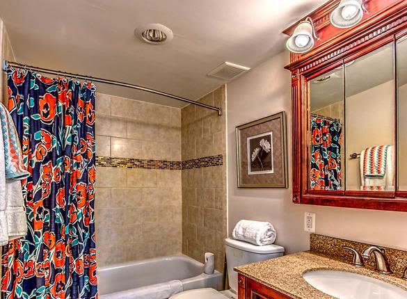 Bathroom at West River Apartments in Philadelphia, Pennsylvania