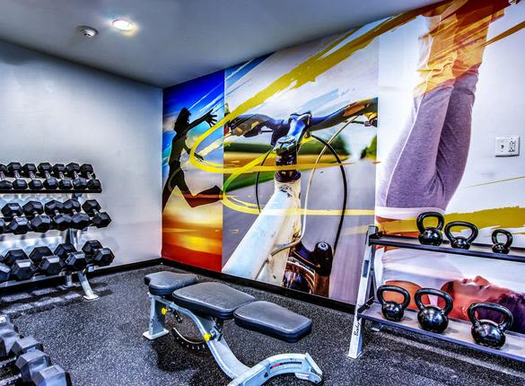 Fitness Center at West River Apartments in Philadelphia, PA