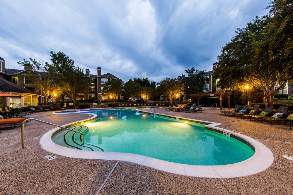 Pool of Marquis at Carmel Commons in Charlotte