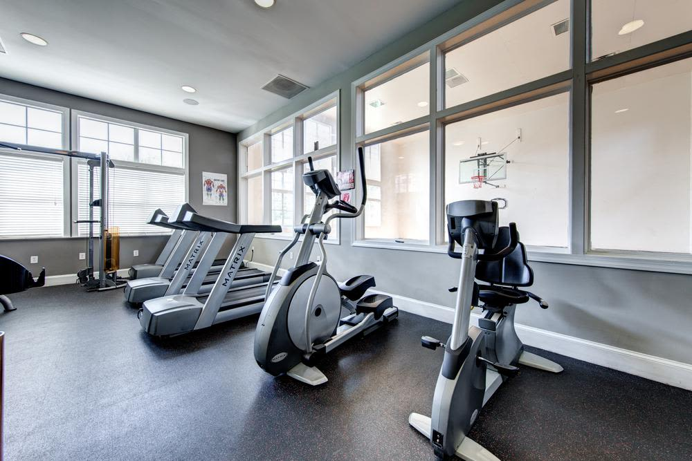 Fitness center on The Preserve at Ballantyne Commons
