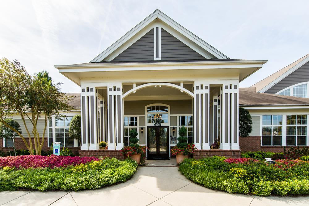 Community entrance at The Preserve at Ballantyne Commons