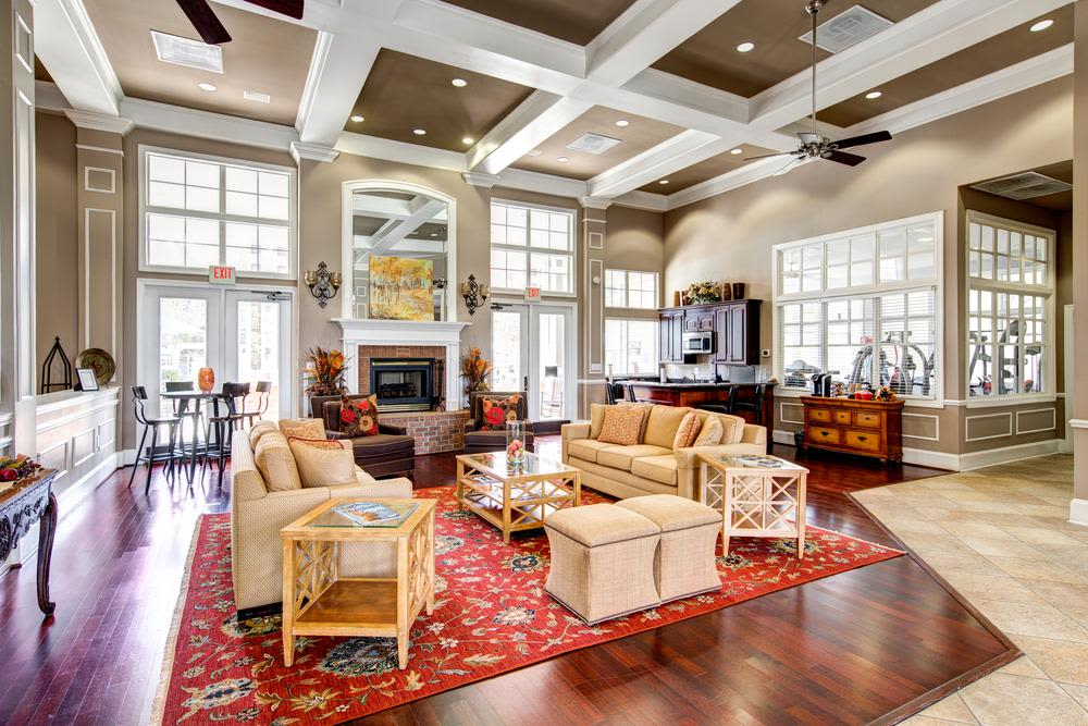 community club house at The Preserve at Ballantyne Commons