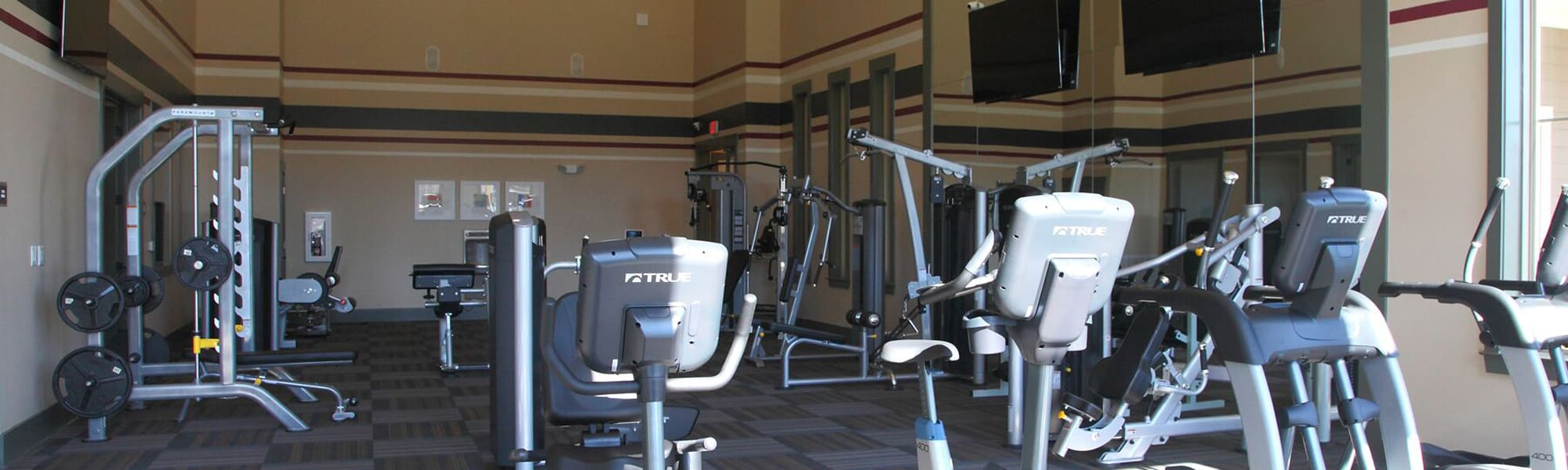 Fitness Center and other luxury amenities at our apartments in Fredericksburg, VA