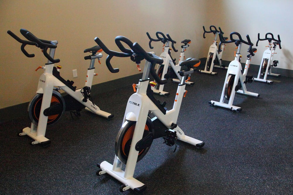Silver Collection at Celebrate fitness center amenities