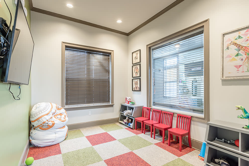 Great spaces for kids at GrandeVille at Malta's clubhouse