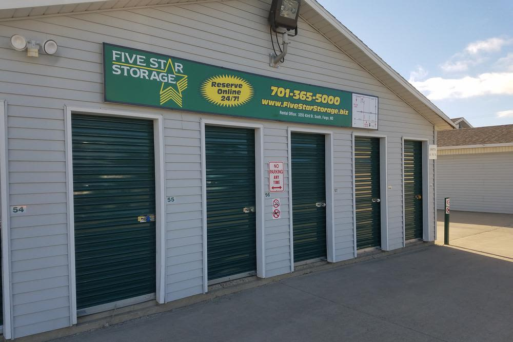 Very secure facilities at Five Star Storage