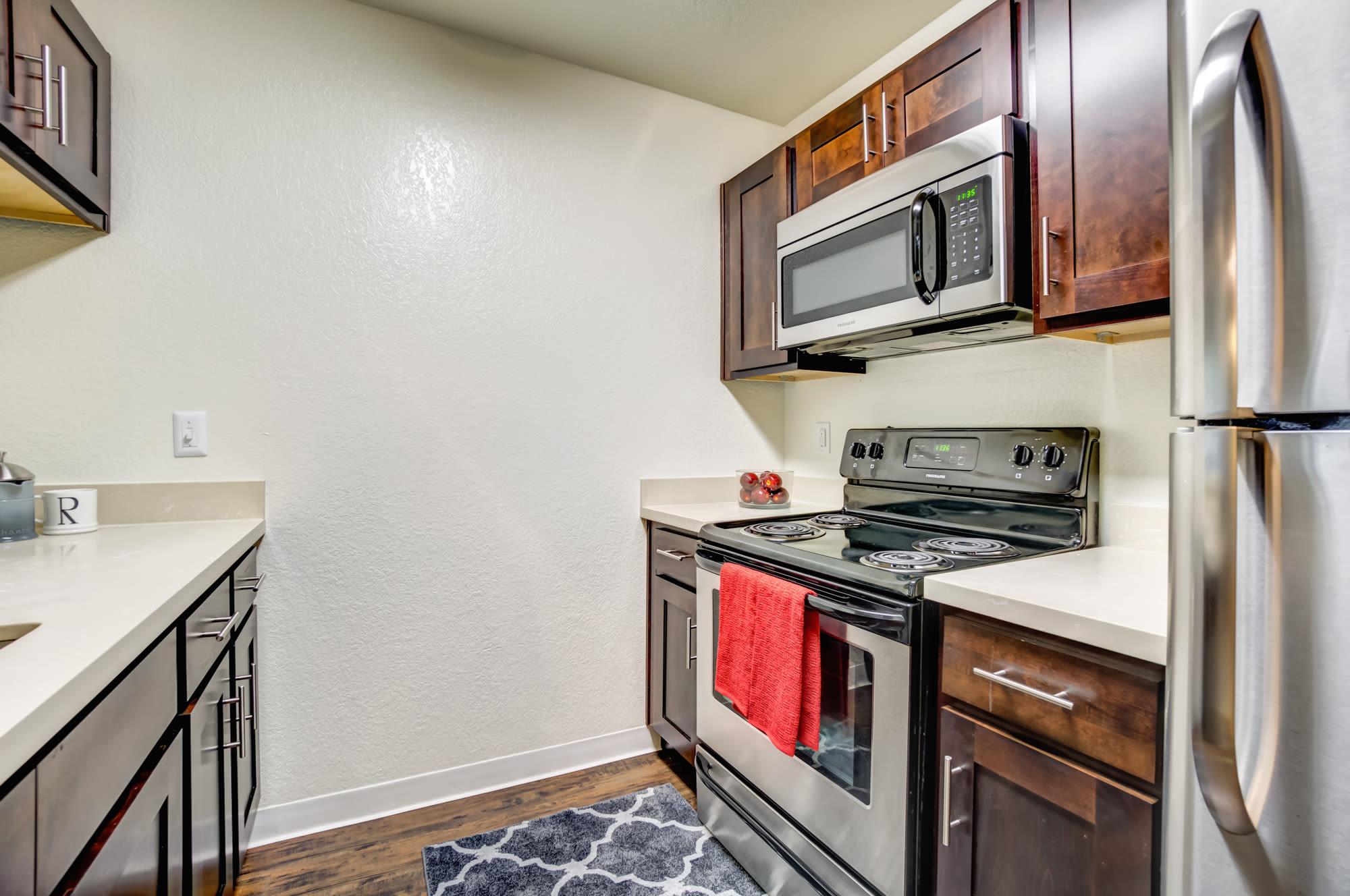 Kitchen at Serramonte Ridge Apartment Homes in Daly City,CA