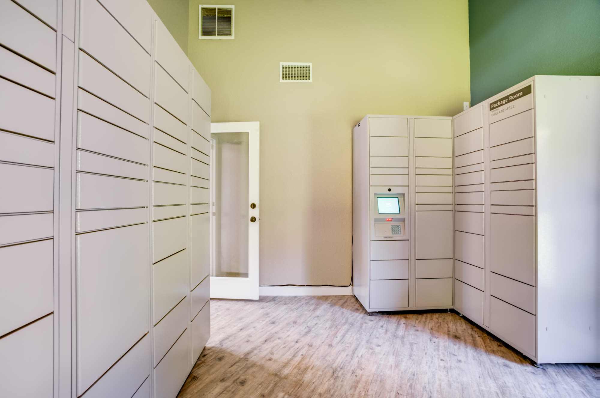 Package Room at Serramonte Ridge Apartment Homes in Daly City,CA