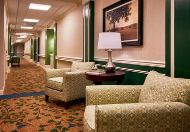 Rest room at Waltonwood at Ashburn in Ashburn, VA