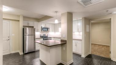 Modern kitchens at Altitude Apartments