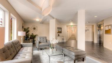 Enjoy apartments with a modern living room at Altitude Apartments