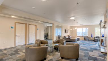 Our apartments in Renton, Washington showcase a spacious living