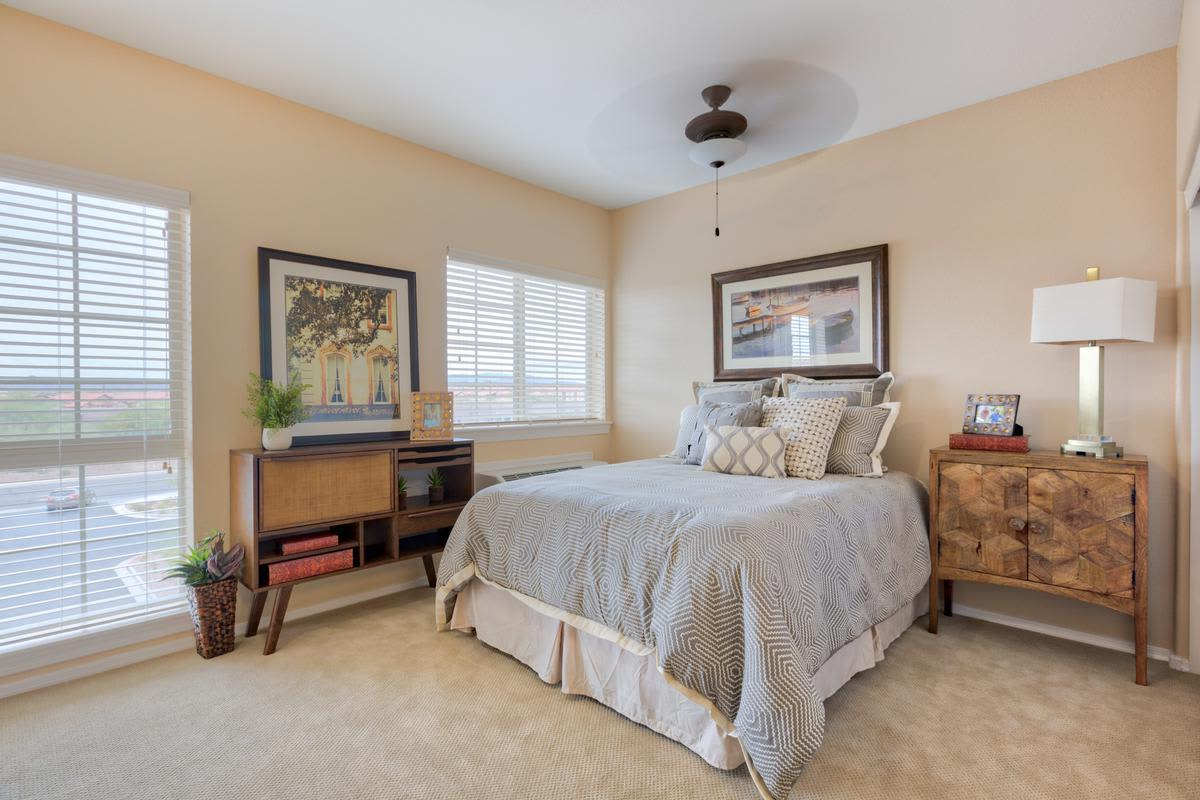 Model apartment at The Enclave at Anthem Senior Living in Anthem, Arizona