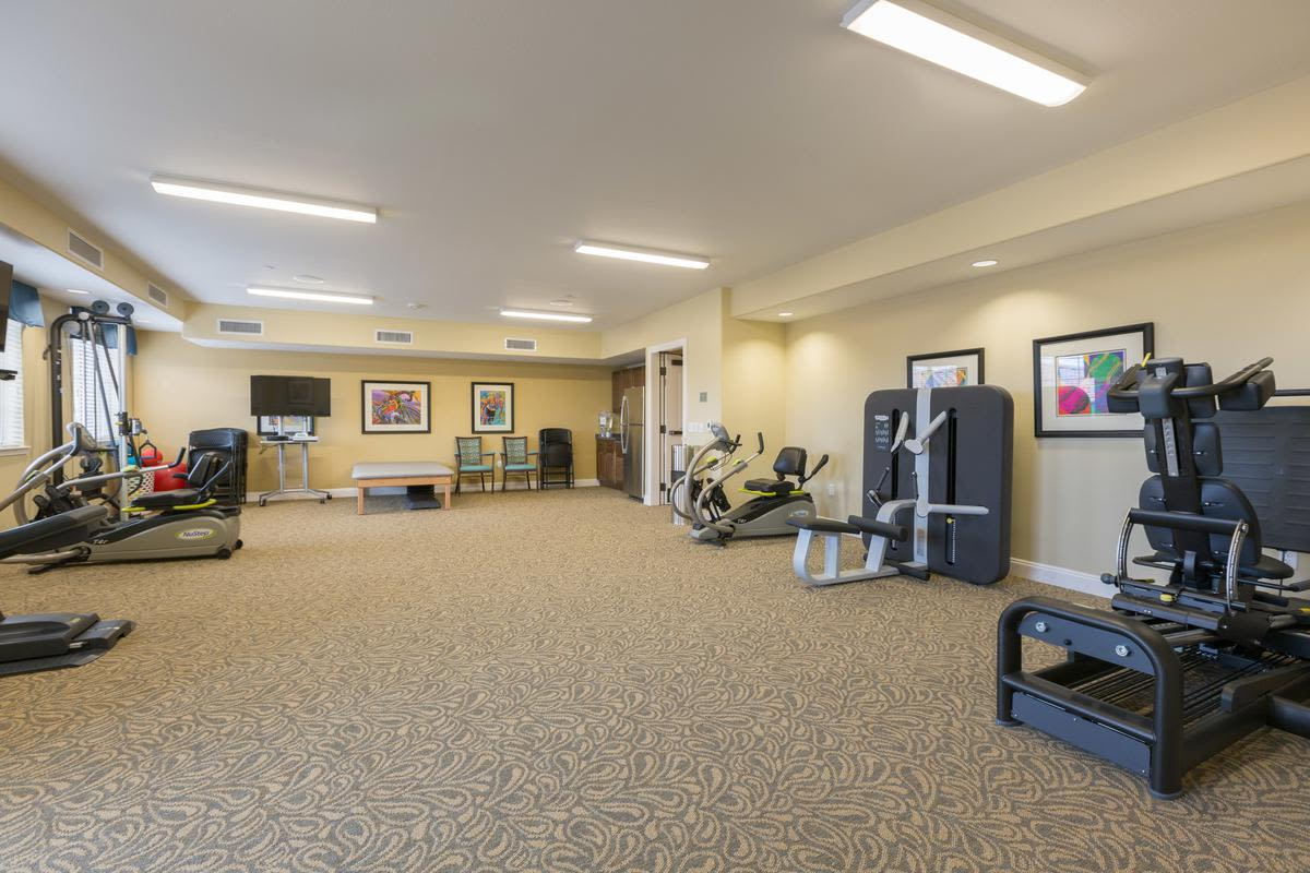 Fitness center at The Enclave at Anthem Senior Living in Anthem, Arizona