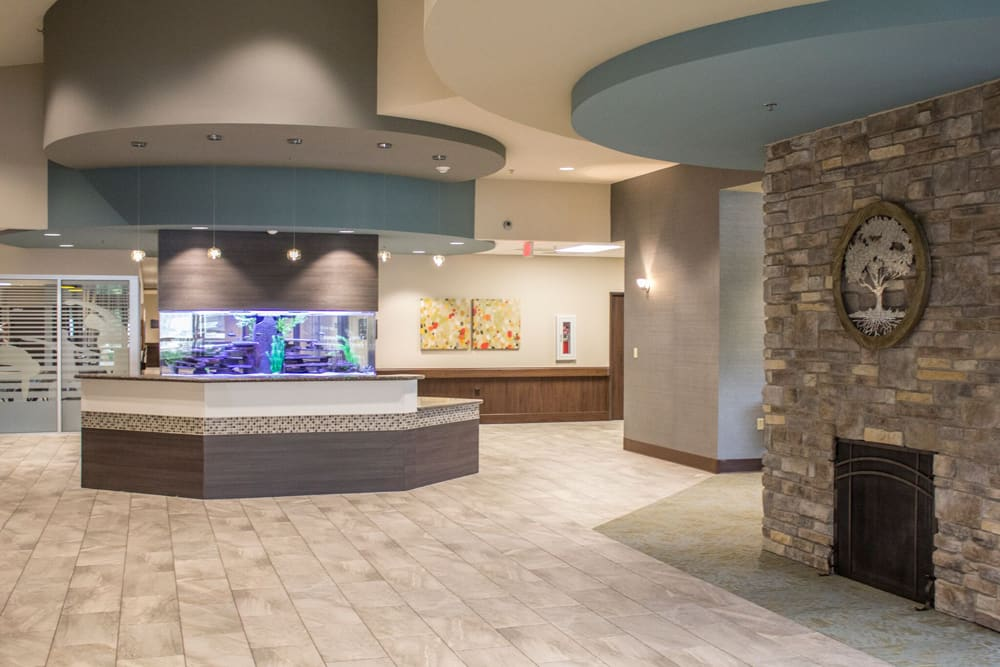 Lobby at Creekside Health and Rehabilitation Center